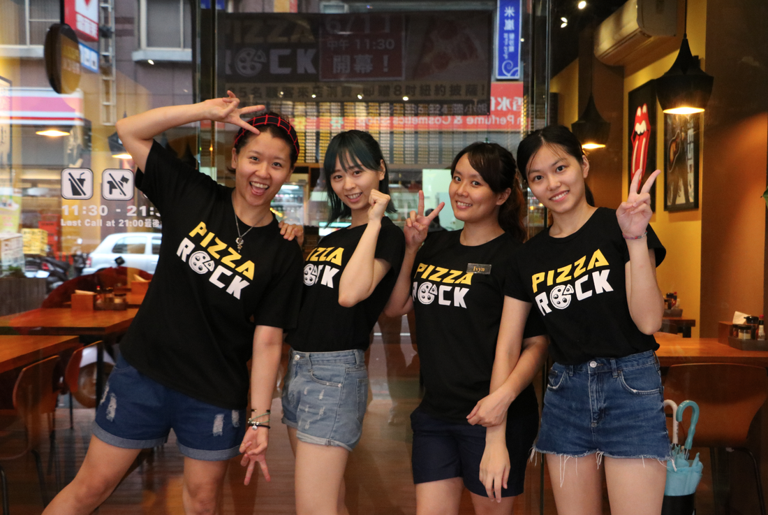 pizza rock kaohsiung 披薩
